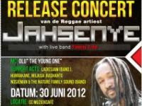 "Releaseconcert ""Ghetto Child"" van Jahsenye in Nederland"