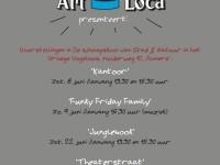 Voorstelling 'FUNKY FRIDAY FAMILY' door Artloca op 9 Juni 2013