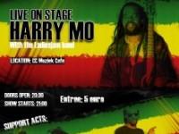 Reggae artiest Harry Mo live in Amsterdam met Ladiesjam