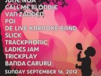 Ladiesjam bij Nazomerfestival de Pijp 16 september 2012