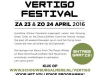 VVFLEX @ VERTIGO festival in Almere op 23 en 24 april 2016